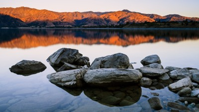 Abendstimmung am Lake Hawea