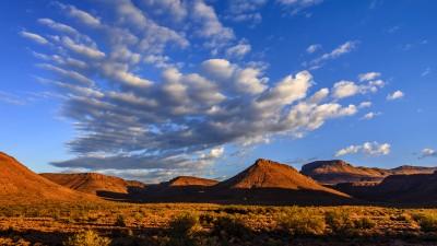 Karoo National Park - Blick von unserer Terrasse