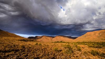 Karoo National Park - Morgenstimmung, jedoch kam kein Tropfen Regen