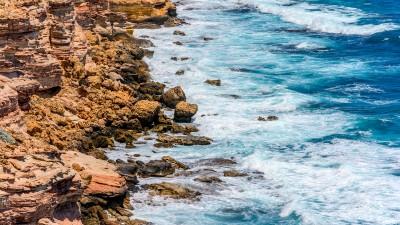 Steilküste südlich von Kalbarri