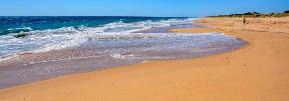 Noch einmal die Preston Beach