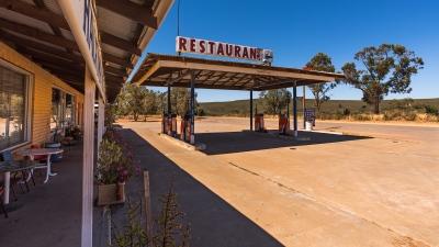 Roadhouse Romantik nördlich von Perth