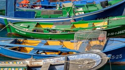 Im Hafen von Las Galletas