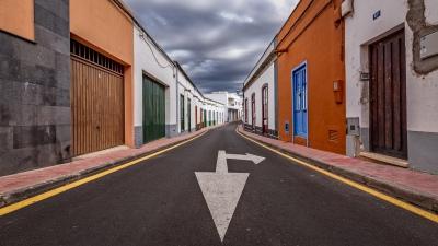 Calle de la Iglesia, San Miguel