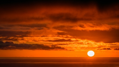 Sonnenuntergang bei Los Cristianos