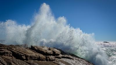 Lambert's Bay - nicht die ganz grosse Welle