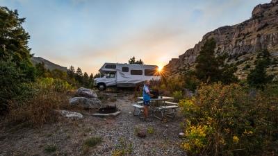 Sinks Canyon State Park, Lander, Wyoming