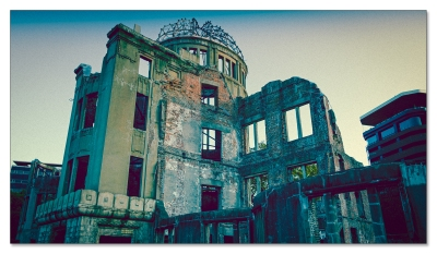Atombombenkuppel, dramatische Version