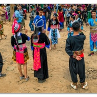 Hmong New Year in Luang Prabang