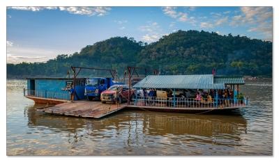 Mekong Fähre, Luang Prabang