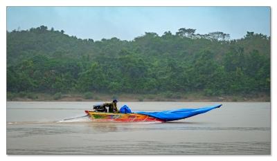 Express auf dem Mekong.....