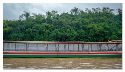 ...regulär unterwegs auf dem Mekong