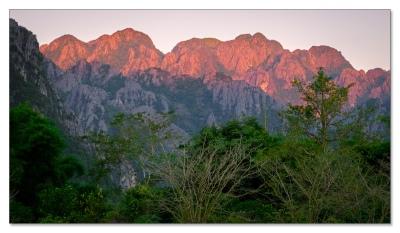 Karstlandschaft, Vang Vieng