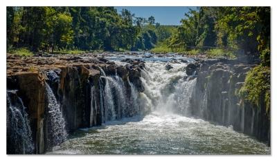 Pha Suam 'Wasserfall'