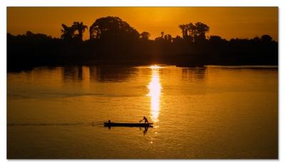 Idylle am Mekong