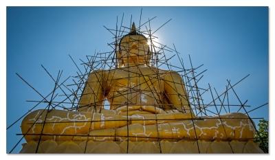 Golden Buddha, Phu Salao, Pakse