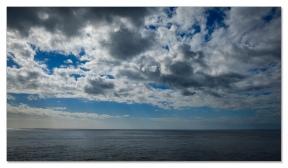 Wolken und Meer!
