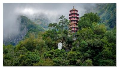 Tianfeng Pagode, Taroko Gorge