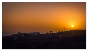 Sonnenuntergang mit Sony