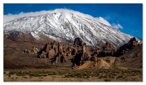 Roques de Garcia mit dem Teide