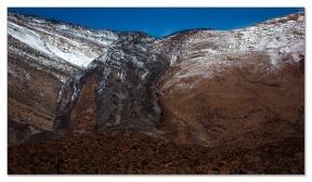 Lavafluss am Pico del Teide