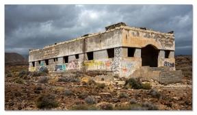 Verlassene Lepra-Station bei Abades