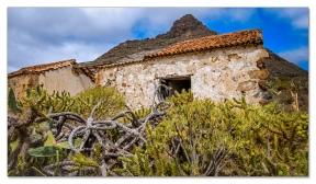 Verlassene Finca am Roque Imoque, Tenerife