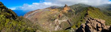 Nochmals der Risco Blanco im wilden Teno Gebirge