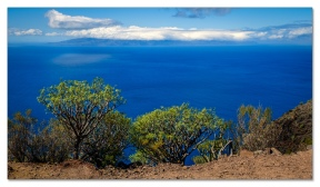 Blick rüber nach La Gomera