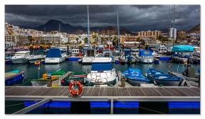 Am Hafen von Los Cristianos