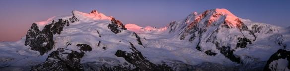 Monte Rosa Massiv - Lyskamm