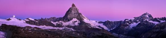 Matterhorn, gesehen vom Gornergrat