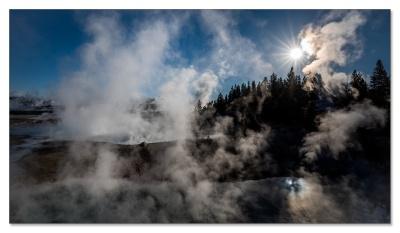 Norris Geyser Basin, Yellowstone NP, WY