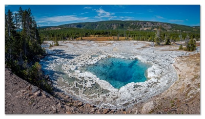 Upper Geyser Basin, Yellowstone NP, WY