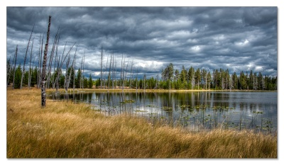 Goose Lake, Fountain Flat, Yellowstone NP