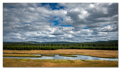 Firehole River, Fountain Flat, Yellowstone NP