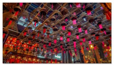 Man Mo Tempel, HK