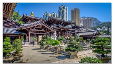 Chi Lin Nunnery, Kowloon