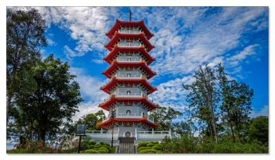 Im Chinesischen Garten, Singapur