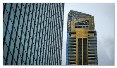Banken und Versicherungswelt Singapur