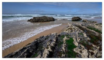 Praia de Monte Clérigo, Algarve, Portugal