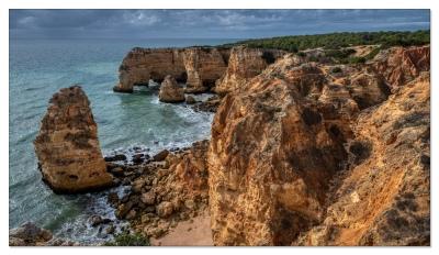 Benagil, Algarve, Portugal